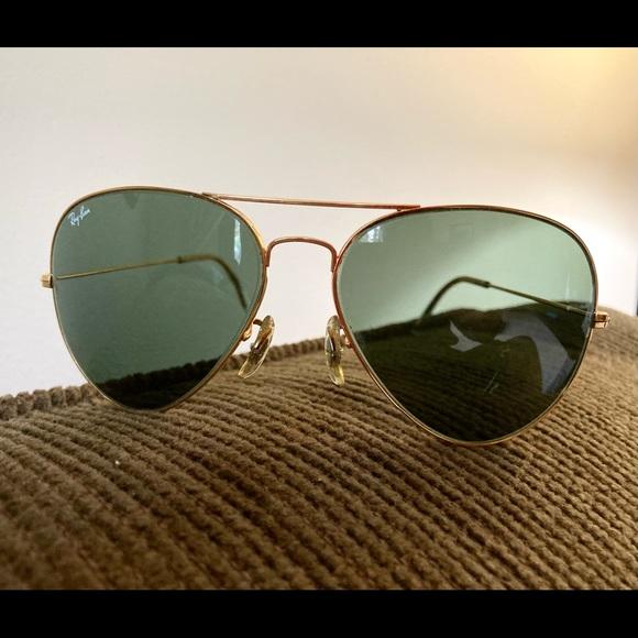 Vintage B&L RAYBAN L2846 Large Aviator Sunglasses 🕶
